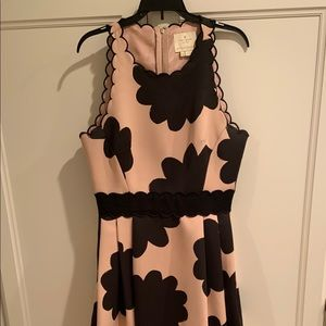 Kate Spade Petal Stamp Fit and Flare Dress